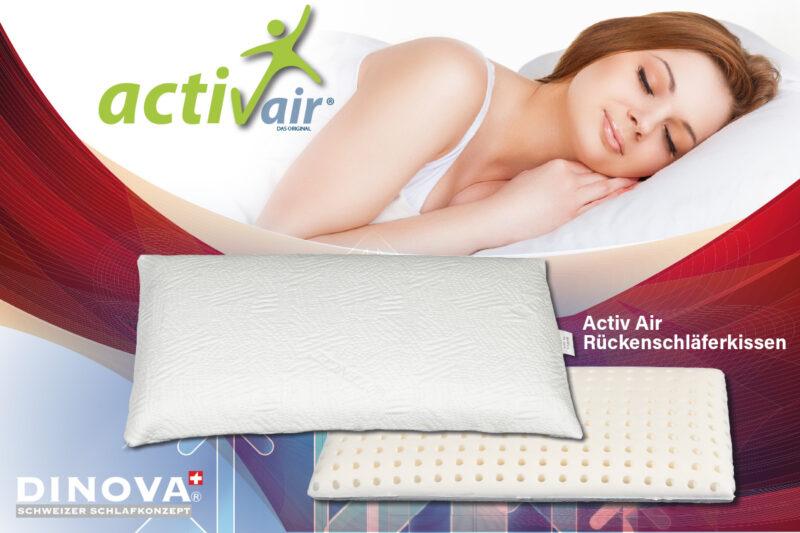 Activ Air Rückenschläferkissen